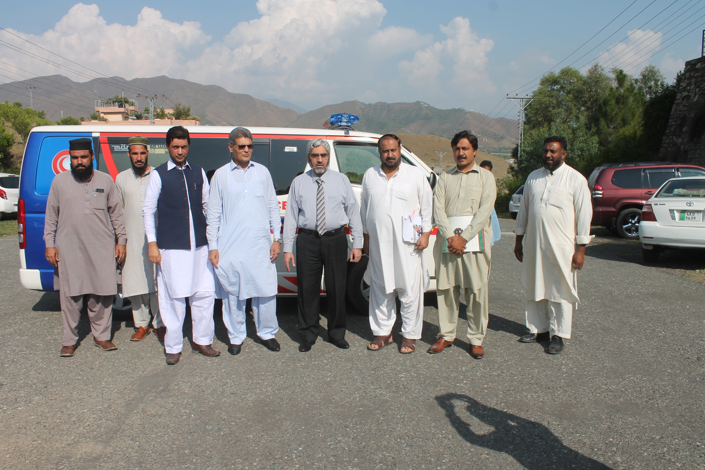 New Ambulance included in the fleet of UOS Vehicles