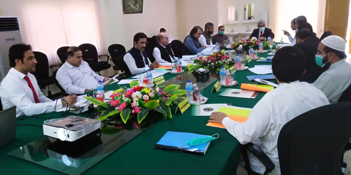 2nd Meeting of Academic Council held on October 06, 2020 at Main Campus, Charbagh