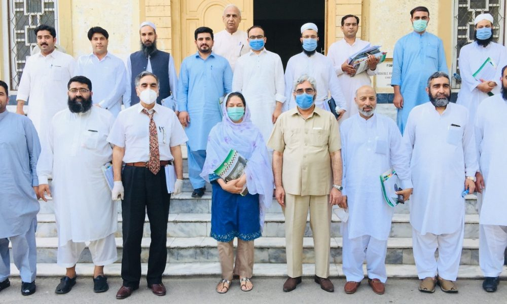 The 34th Syndicate meeting, which was held in University of Peshawar owing to Corona Pandemic and was presided over by the Vice Chancellor of University of Swat Prof. Dr. Muhmmad Jamal Khan.