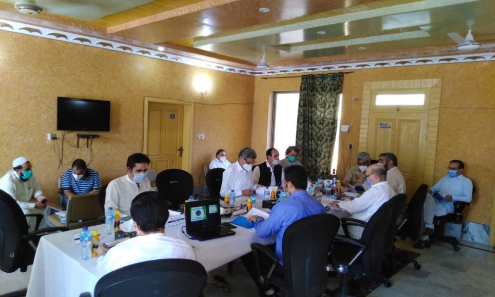 First Meeting of Academic Council held on July 07, 2020 at University of Swat