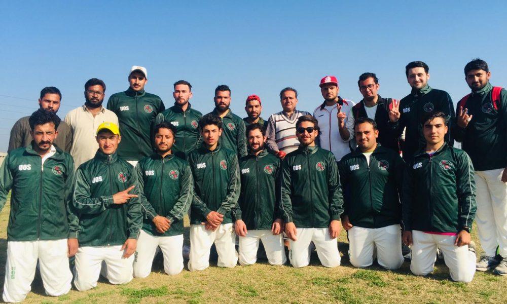 University of Swat cricket qualify for final round of HEC intervarsity cricket championship 2019-20